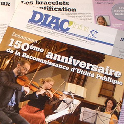 Journal Interne Diac'Infos couverture Diaconat