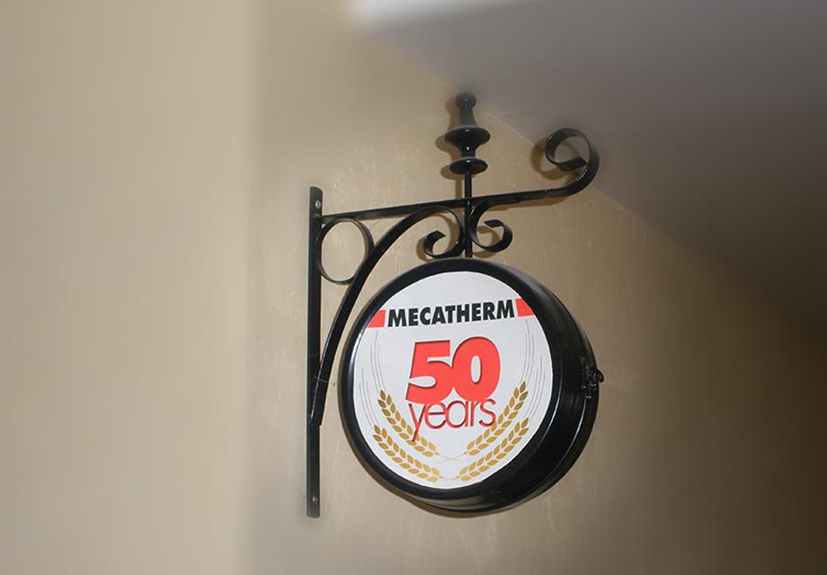 Logo 50 ans Mecatherm 2
