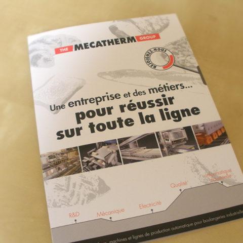 Guide réalisé pour Mecatherm dans le cadre de leur communication de recrutement