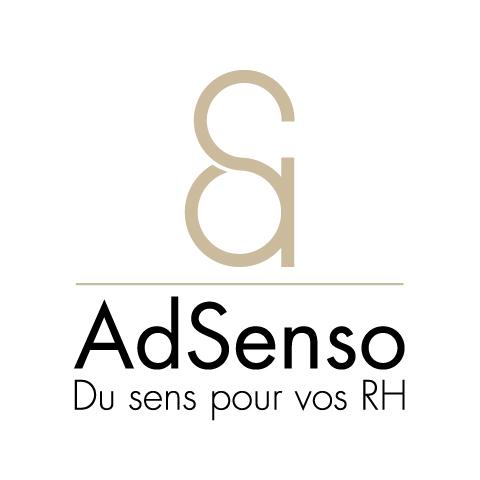 Logo de AdSenso, du sens pour vos RH