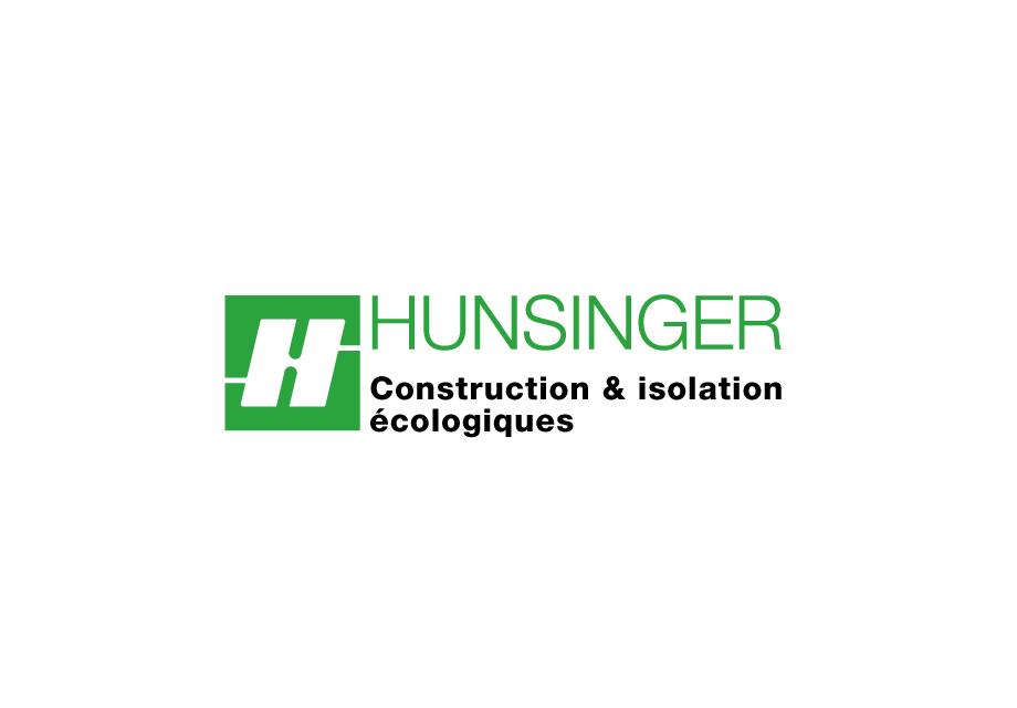 Logo de Hunsinger, construction et isolation écologiques