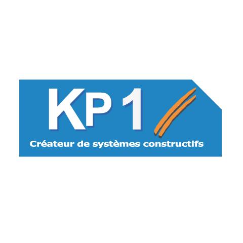 Logo de KP1, créateur de systèmes constructifs