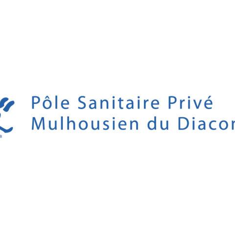 Logo du Pôle sanitaire privé Mulhousien du Diaconat