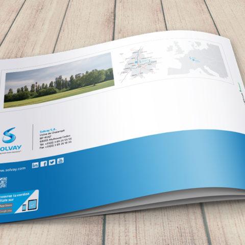 Rapport developpement durable réalisé pour Solvay