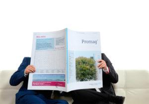 Journal interne Promag' réalisé pour Endress+Hauser