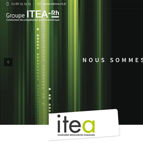 Site Internet Itea RH page accueil vue 1