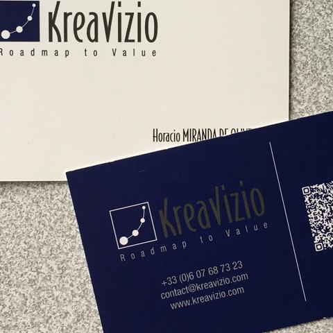 Cartes de visite Kréavizio
