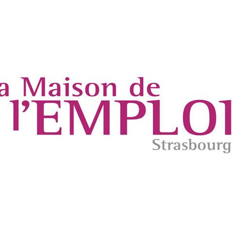 Logo de La Maison de l'Emploi de Strasbourg