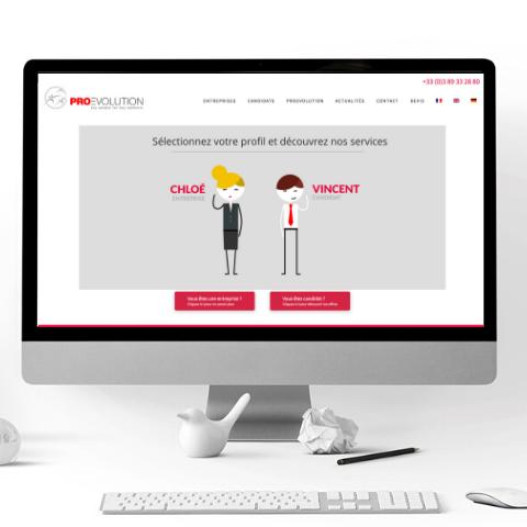 Site internet Pro Evolution