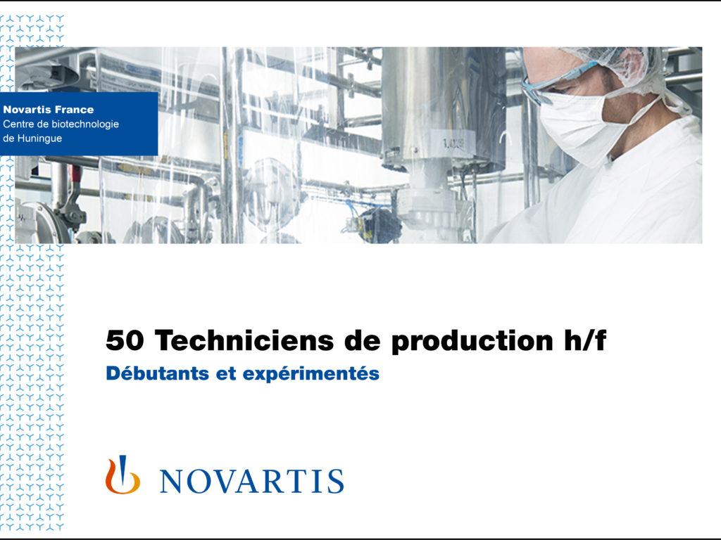 Campagne de recrutement Novartis