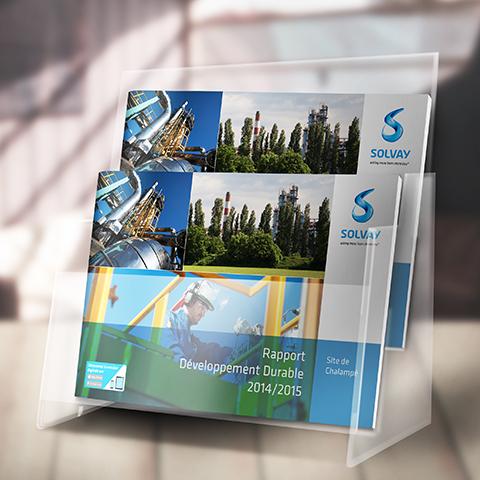 Rapport Développement Durable Solvay couverture