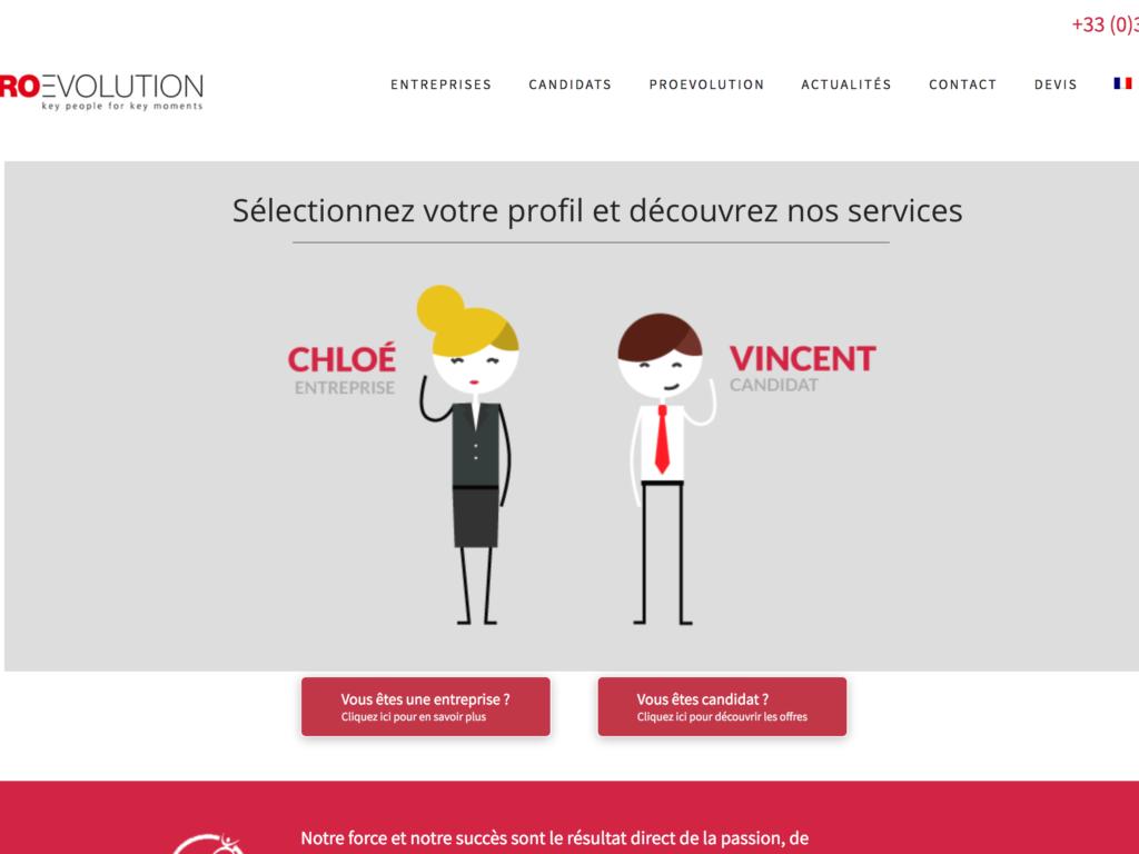 Site internet Proevolution