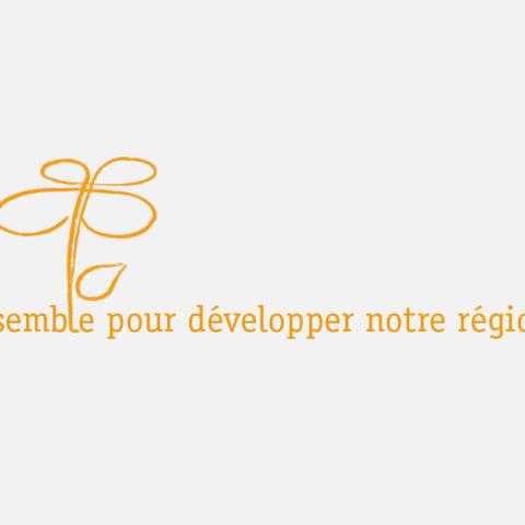 Logo avec la baseline de la Fédération Régionale des Travaux Publics