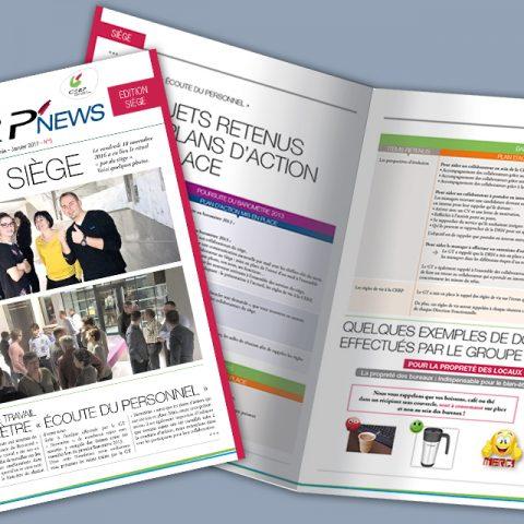 Journal Interne Cerp Rhin Rhône Méditerranée édition siège vue 2