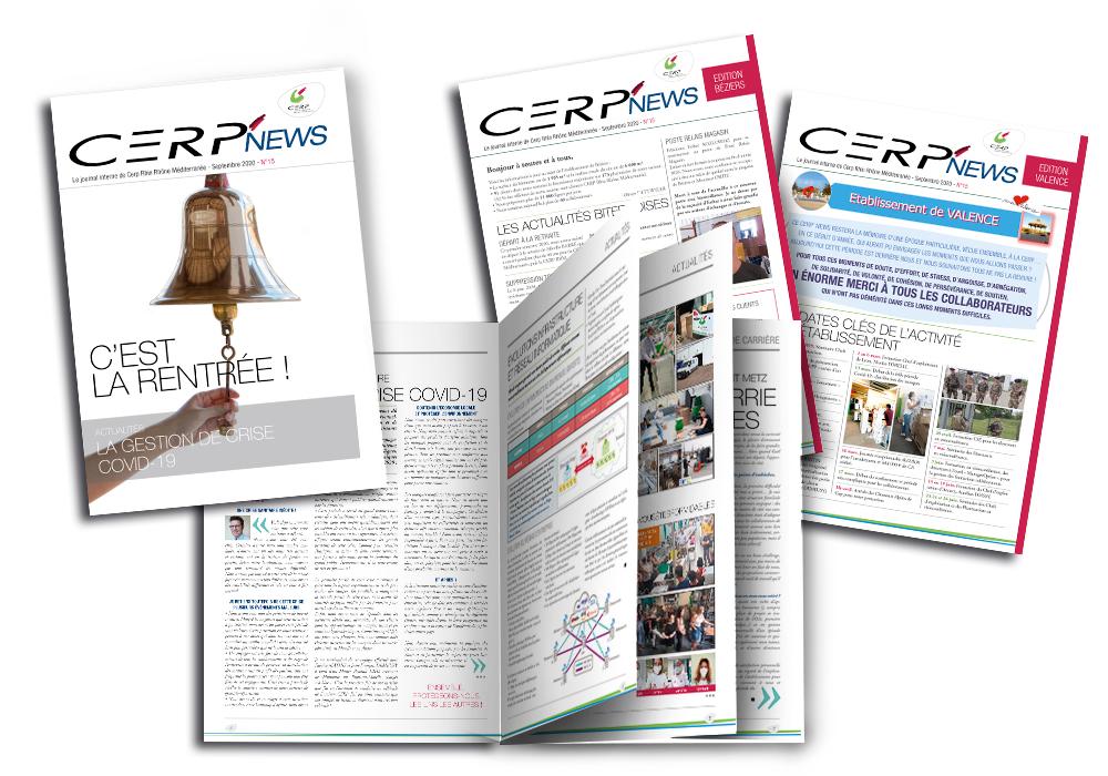 Journal interne de septembre CERP Cerp'news