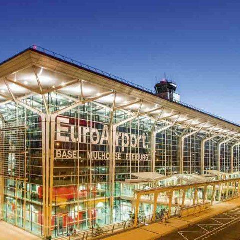 Réseaux sociaux LinkedIn page vie d'entreprise Euroairport vue 2