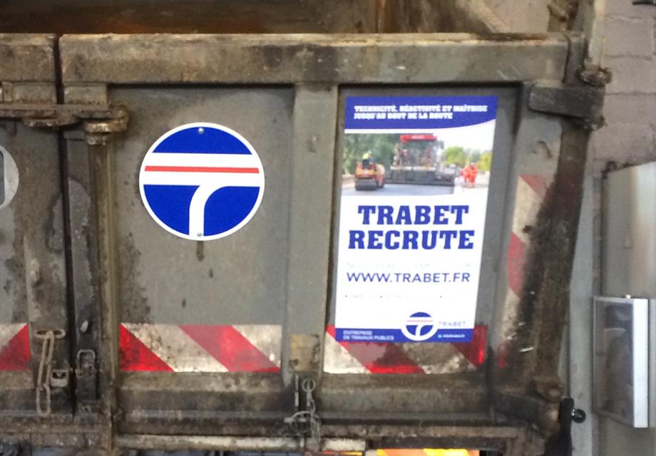 Réalisation d'un magnet pour Trabet dans le cadre d'une communication de recrutement